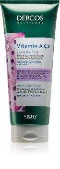 Vichy Dercos Vitamin A.C.E revitalizačný kondicionér pre rozžiarenie mdlých vlasov
