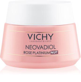Vichy Neovadiol Rose Platinium crème de nuit illuminatrice et rénovatrice pour peaux matures