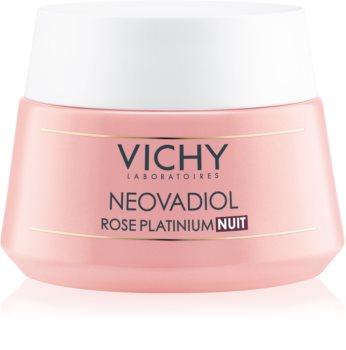 Vichy Neovadiol Rose Platinium rozświetlający i regenerujący krem na noc do skóry dojrzałej
