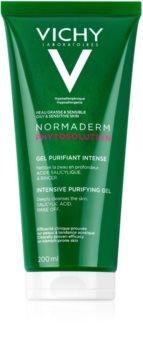 Vichy Normaderm Phytosolution gel intens pentru curatare impotriva imperfectiunilor pielii cauzate de acnee