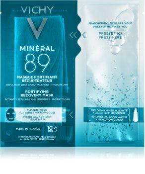 Vichy Minéral 89 máscara facial fortificante e renovadora