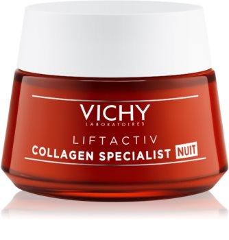 Vichy Liftactiv Collagen Specialist Cremă de noapte intensă pentru riduri