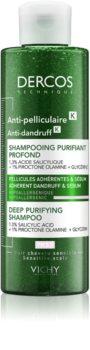 Vichy Dercos Anti-Dandruff Shampoo gegen Schuppen mit Peelingeffekt