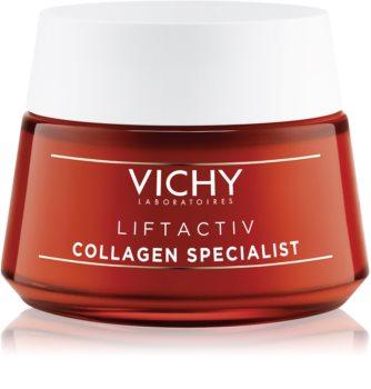 Vichy Liftactiv Collagen Specialist Foryngende og løftende creme med anti-rynkeeffekt