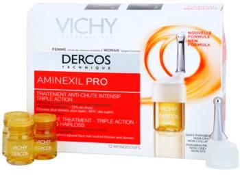 Vichy Dercos Aminexil PRO intenzívna kúra proti padaniu vlasov pre ženy
