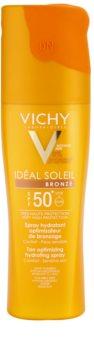 Vichy Idéal Soleil Bronze hydratační sprej optimalizující opálení SPF 50+