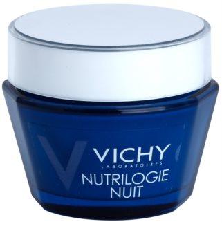 Vichy Nutrilogie Vivid Night Cream for Dry and Very Dry Skin