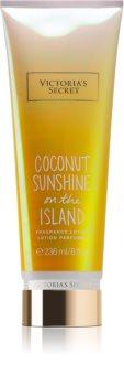 Victoria's Secret Summer Vacation Coconut Sunshine On The Island тоалетно мляко за тяло за жени