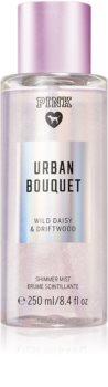 Victoria's Secret PINK Urban Bouquet Shimmer spray do ciała z brokatem dla kobiet