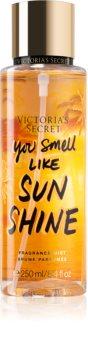 Victoria's Secret Let's Get Away You Smell Like Sunshine parfémovaný tělový sprej pro ženy