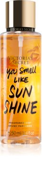 Victoria's Secret You Smell Like Sunshine Scented Body Spray for Women