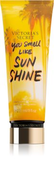 Victoria's Secret Let's Get Away You Smell Like Sunshine тоалетно мляко за тяло за жени