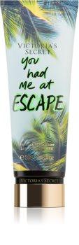 Victoria's Secret Let's Get Away You Had Me at Escape lait corporel pour femme