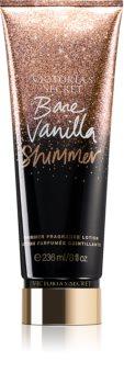Victoria's Secret Bare Vanilla Shimmer тоалетно мляко за тяло с блясък за жени