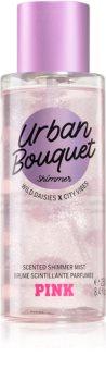 Victoria's Secret PINK Urban Bouquet Shimmer spray pentru corp cu particule stralucitoare pentru femei
