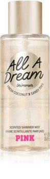 Victoria's Secret PINK All A Dream Shimmer pršilo za telo z bleščicami za ženske