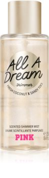 Victoria's Secret PINK All A Dream Shimmer Vartalosuihke Kimalluksen kanssa Naisille