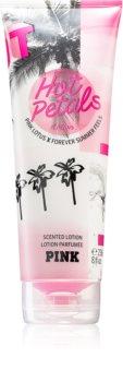 Victoria's Secret PINK Hot Petals тоалетно мляко за тяло за жени