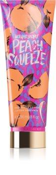 Victoria's Secret Peach Squeeze lait corporel pour femme