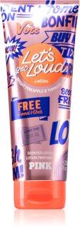 Victoria's Secret PINK Let's Get Loud lait corporel pour femme