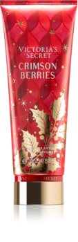 Victoria's Secret Scents of Holiday Crimson Berries Perfumed Body Lotion for Women