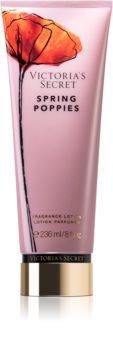 Victoria's Secret Wild Blooms Spring Poppies lait corporel pour femme