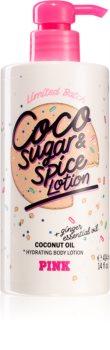 Victoria's Secret PINK Coco Sugar & Spice Lotion хидратиращо мляко за тяло за жени