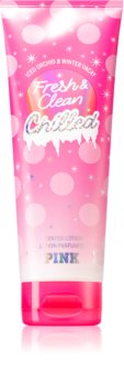 Victoria's Secret PINK Fresh & Clean Chilled Body Lotion for Women