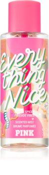 Victoria's Secret PINK Everything Nice parfümözött spray a testre hölgyeknek