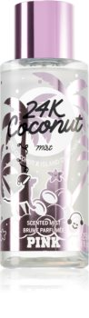 Victoria's Secret PINK 24K Coconut parfémovaný tělový sprej pro ženy