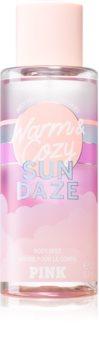 Victoria's Secret PINK Warm & Cozy Sun Dazed spray do ciała dla kobiet