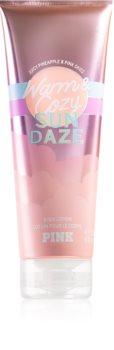 Victoria's Secret PINK Warm & Cozy Sun Dazed Body Lotion für Damen