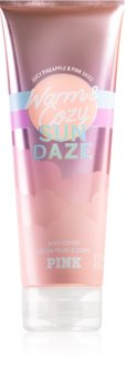Victoria's Secret PINK Warm & Cozy Sun Dazed молочко для тіла для жінок