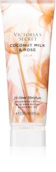 Victoria's Secret Natural Beauty Coconut Milk & Rose тоалетно мляко за тяло за жени