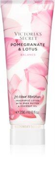 Victoria's Secret Natural Beauty Pomegranate & Lotus lait corporel au beurre de karité pour femme