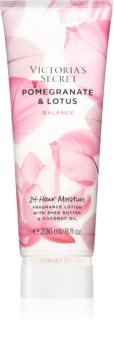 Victoria's Secret Natural Beauty Pomegranate & Lotus telové mlieko s bambuckým maslom pre ženy