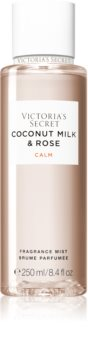Victoria's Secret Natural Beauty Coconut Milk & Rose spray de corp parfumat pentru femei