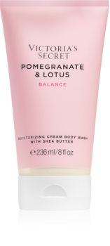 Victoria's Secret Natural Beauty Pomegranate & Lotus Creamy Shower Gel for Women