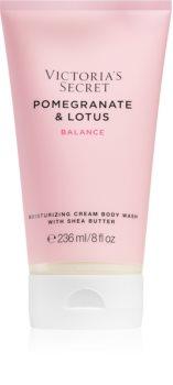 Victoria's Secret Natural Beauty Pomegranate & Lotus kremowy żel pod prysznic dla kobiet