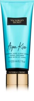 Victoria's Secret Aqua Kiss crema corporal para mujer