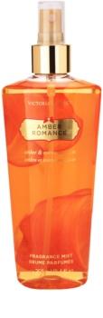 Victoria's Secret Amber Romance Amber & Créme Anglaise spray de corpo para mulheres 250 ml