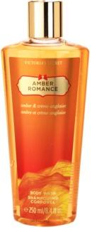 Victoria's Secret Amber Romance Amber & Créme Anglaise gel de duche para mulheres 250 ml