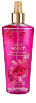 Victoria's Secret Love Addict Wild Orchid & Blood Orange spray corporal para mulheres
