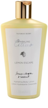 Victoria's Secret Lemon Escape leite corporal para mulheres