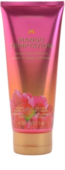 Victoria's Secret Mango Temptation Mango Nectar & Hibiscus creme corporal para mulheres
