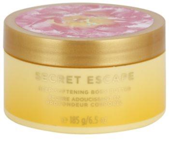 Victoria's Secret Secret Escape Sheer Freesia & Guava Flowers manteiga corporal para mulheres 185 g