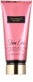 Victoria's Secret Sheer Love tělový krém pro ženy
