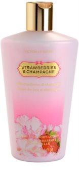 Victoria's Secret Strawberry leite corporal para mulheres