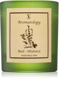 Vila Hermanos Aromatology Basil mirisna svijeća