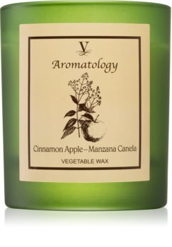 Vila Hermanos Aromatology Cinnamon and Apple mirisna svijeća